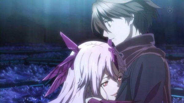 romance anime kiss