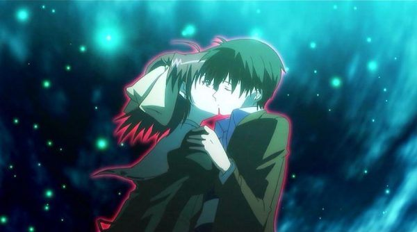 anime kisses