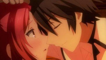 anime kisses