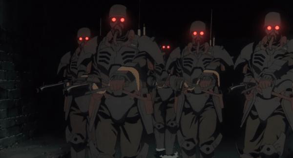 police anime movie
