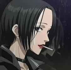 anime girl with black hair