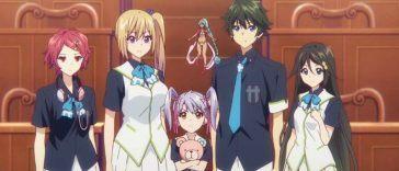 Transfer student anime